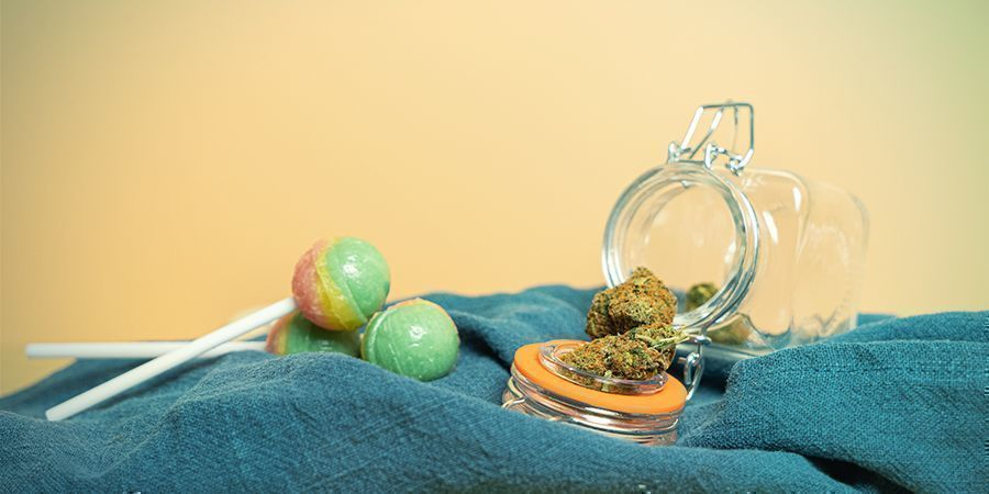 Weed and lollipops: the perfect combo?