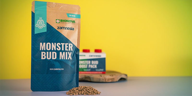 Monster Bud Mix and Monster Bud Boost Pack