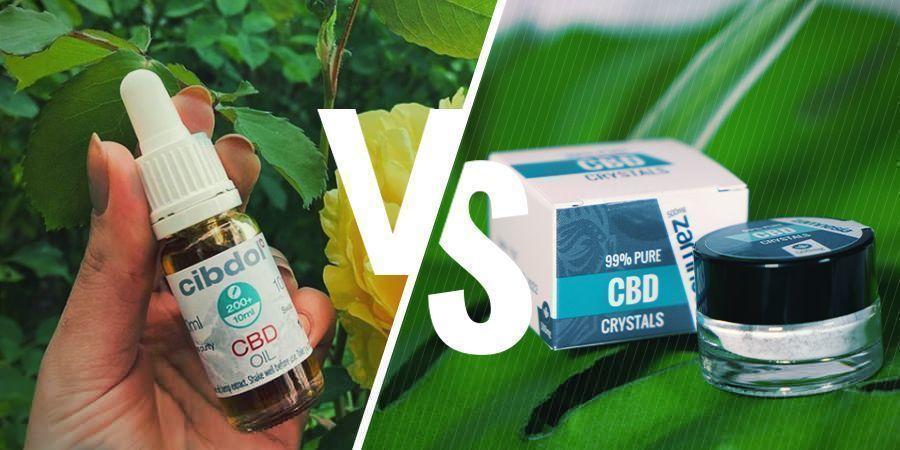 Full-Spectrum CBD vs CBD Isolate