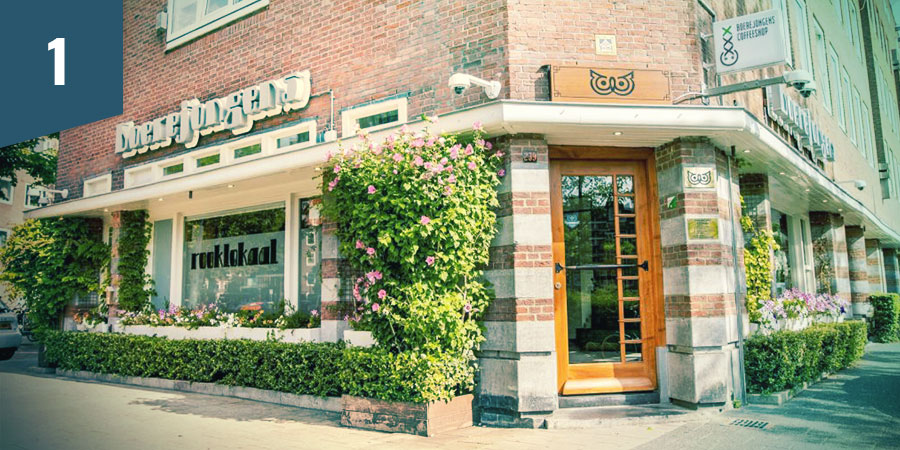 Boerejongens Coffeeshop Amsterdam