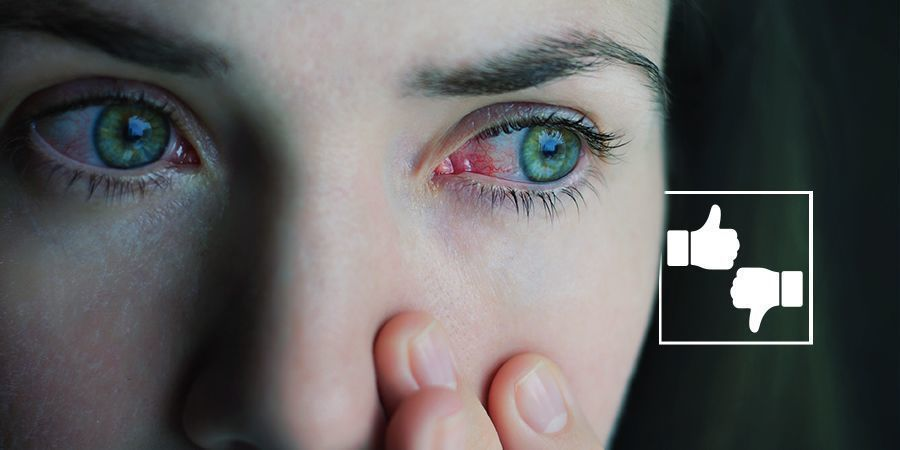 ARE RED EYES BAD? cannabis