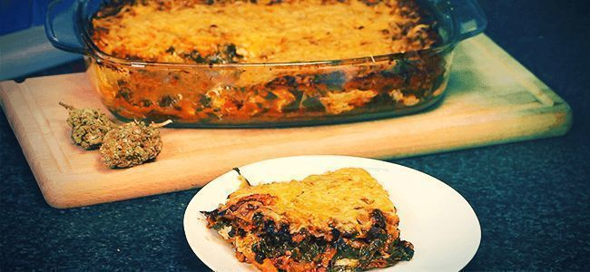 Main Course: Ganja Lasagne