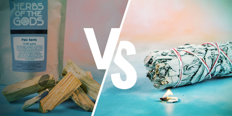 Palo Santo Wood vs Sage
