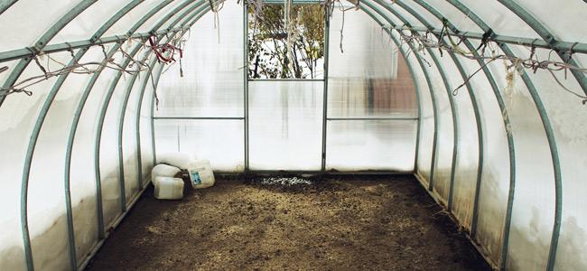 Grow room prepared