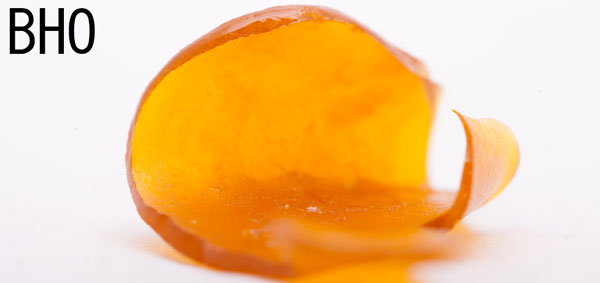 BHO butane hash oil