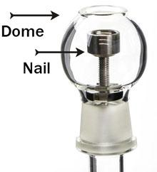 Nail and dome
