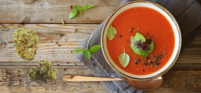 Cannabis Tomato Soup