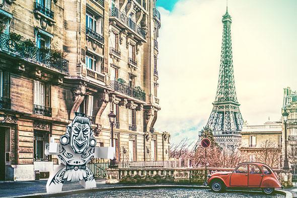 Zammi in Paris