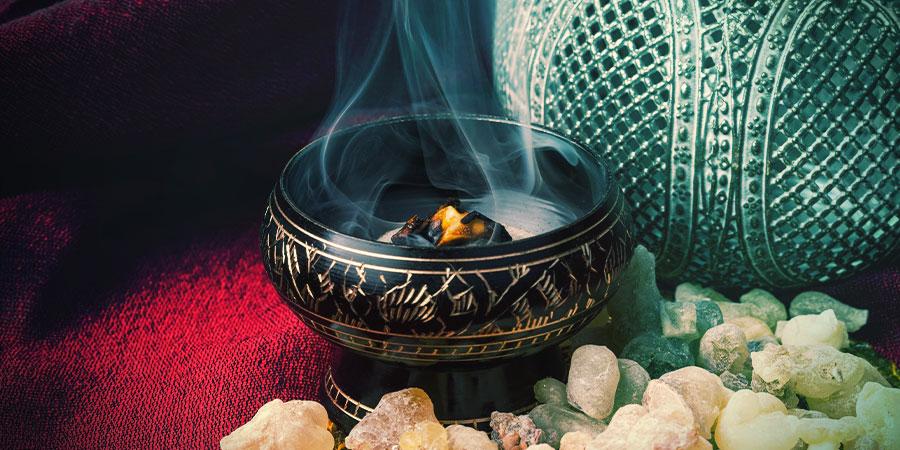 Direct burning & indirect burning incense