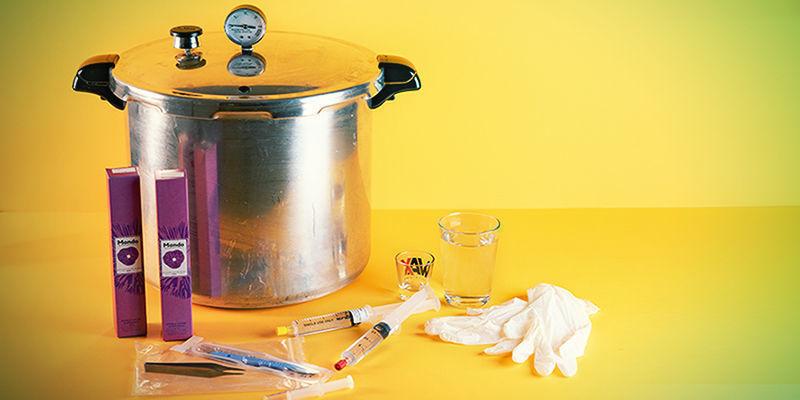 Equipment for a Spore Syringe