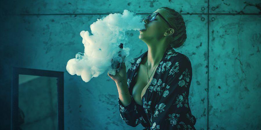 smoke and vapour