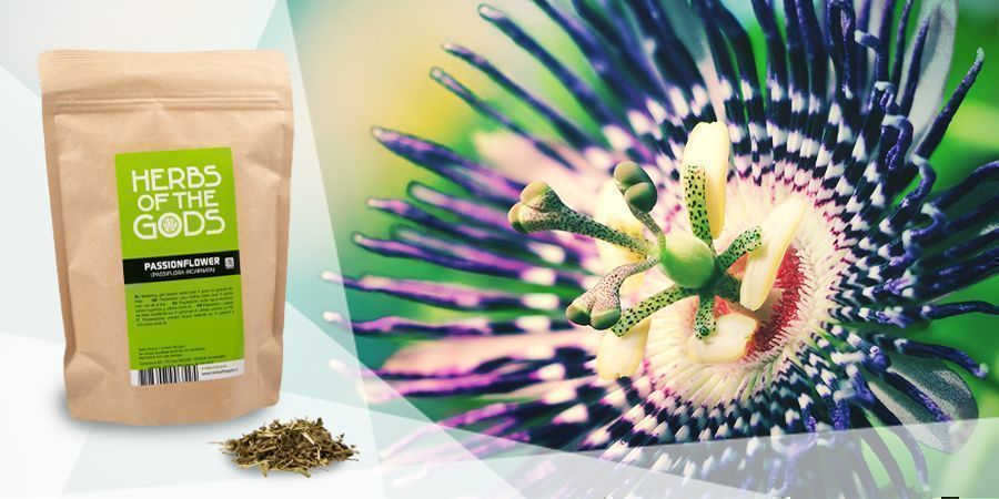 Passionflower  - Vape Herbs For A Good Mood