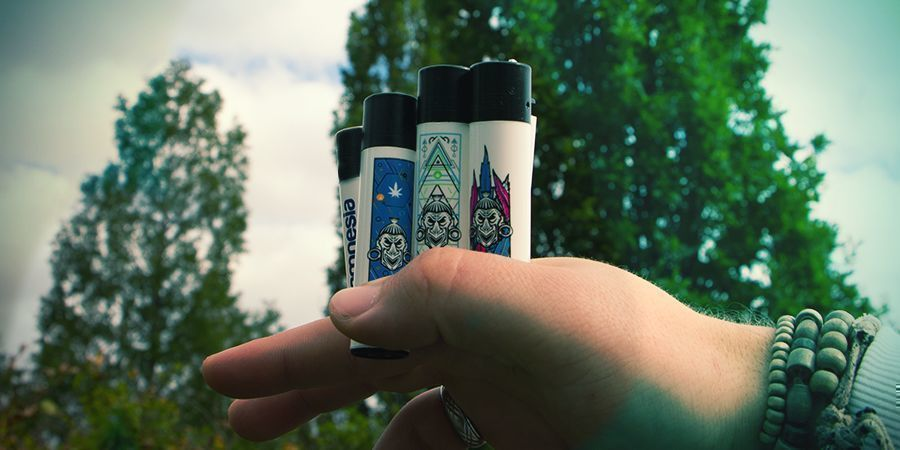Zamnesia Clipper Lighter