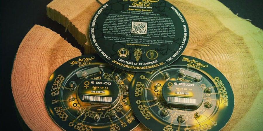 Greenhouse Seeds packaging