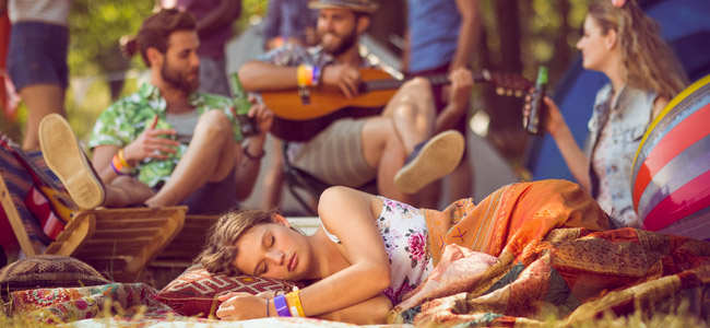 Goa Festival tired