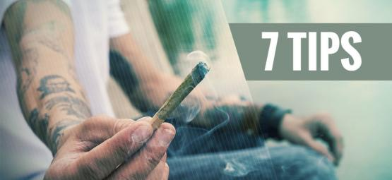 7 Tips For First-Time Cannabis Smokers