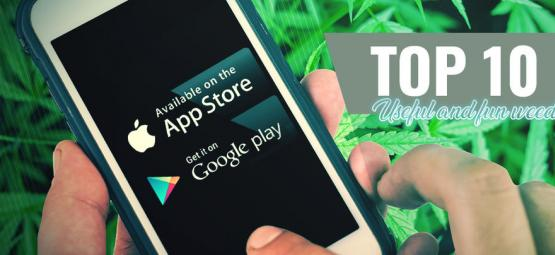 10 Useful And Fun Cannabis Apps