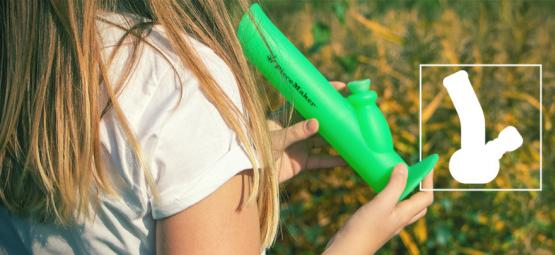 The 3 Best Silicone Bongs: Unbreakable & Easy To Clean
