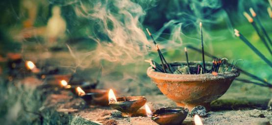 The Origins of Nag Champa Incense